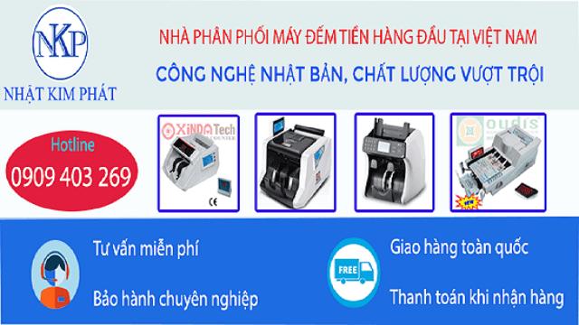 Nhật Kim Phát là đơn vị chuyên cung cấp máy đếm tiền tại quận Cầu Giấy