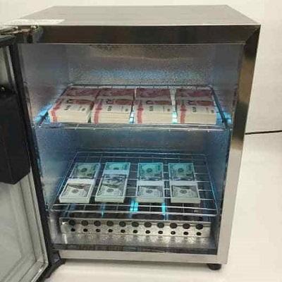 máy khử trùng diệt khuẩn tiền